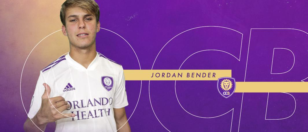Former OCYS player, Jordon Bender, signs for Orlando City B